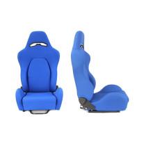 Sport, verseny ülés DRAGO Kék anyagú